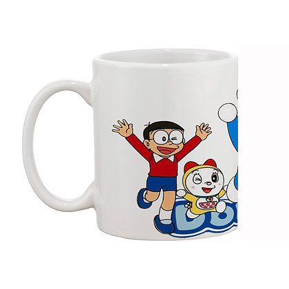 Doraemon and his friends Ceramic Coffee Mug 325 ml