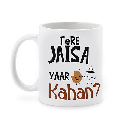 Tere Jaisa Yaar Kahan Ceramic Coffee Mug 325 ml