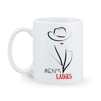 Men's Ladies Ceramic Coffee Mug 325 ml
