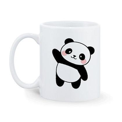 Cute Panda Printed Ceramic Coffee Mug 325 ml