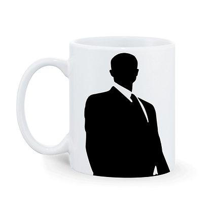 Like a boss Printed Ceramic Coffee Mug 325 ml