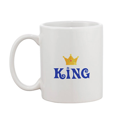 King and Queen Ceramic Coffee Mug 325 ml