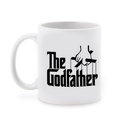 The Godfather Printed Ceramic Coffee Mug 325 ml