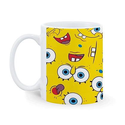 copy of Cartoon Funny SpongeBob SquarePants Pattern Ceramic Coffee Mug 325 ml