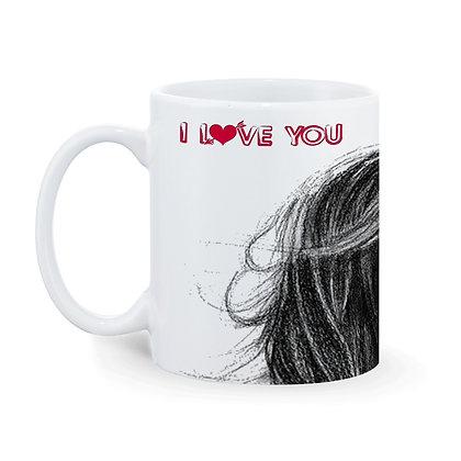 I Love You - Couple Ceramic Coffee Mug 325 ml