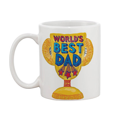 World's Best Dad Ceramic Coffee Mug 325 ml