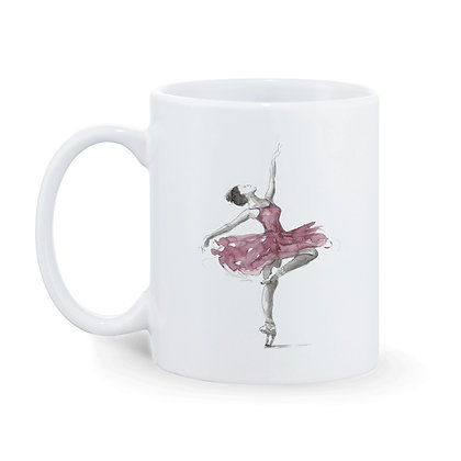 Dancing is my passion Printed Ceramic Coffee Mug 325 ml