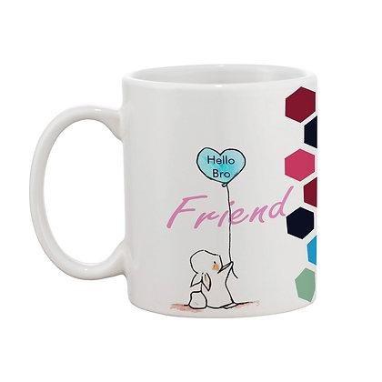 Friend Forever Ceramic Coffee Mug 325 ml