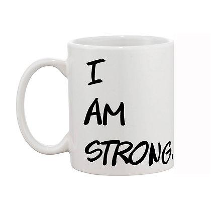 I am storng Printed Ceramic Coffee Mug 325