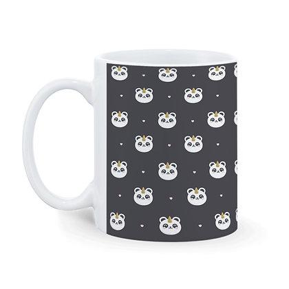 Panda Pattern Ceramic Coffee Mug 325 ml
