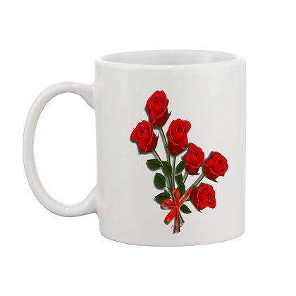 Good Time Printed Ceramic Coffee Mug 325 ml