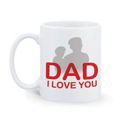Dad I love You Ceramic Coffee Mug 325 ml
