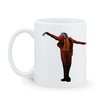 Joker Printed Ceramic Coffee Mug 325 ml