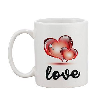 Love Ceramic Coffee Mug 325 ml