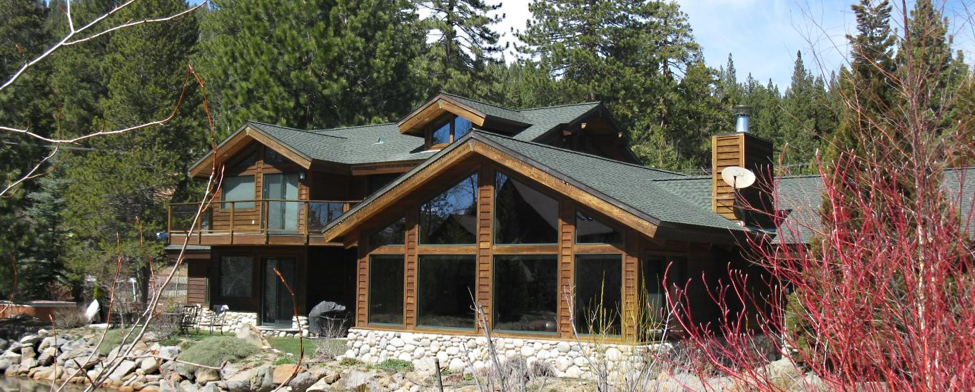 North Lake Tahoe lakefront home