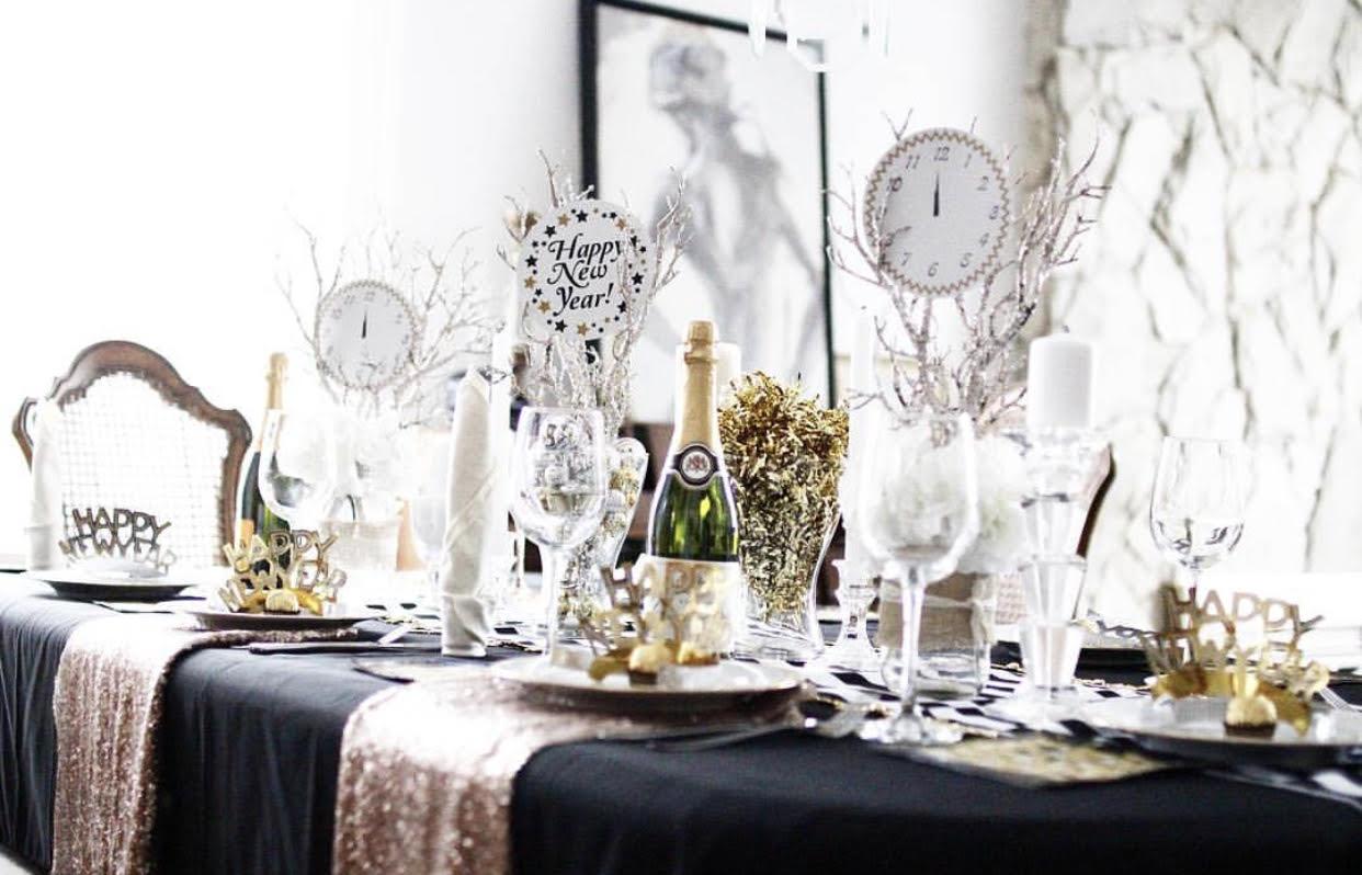 10 New Year\'s Eve Party Décor Ideas | Amandalina | Toronto, Canada