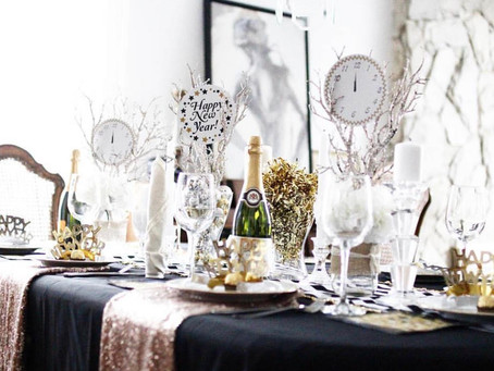 10 New Year's Eve Party Décor Ideas