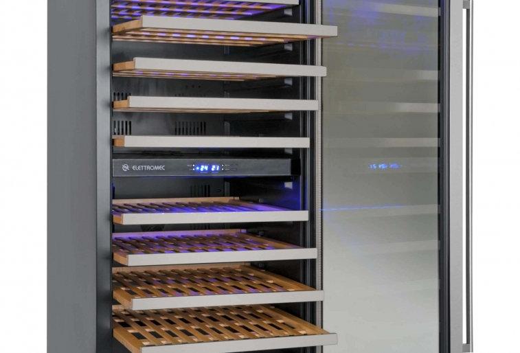 Adega 110 garrafas Dual Zone Built-in - Elettromec