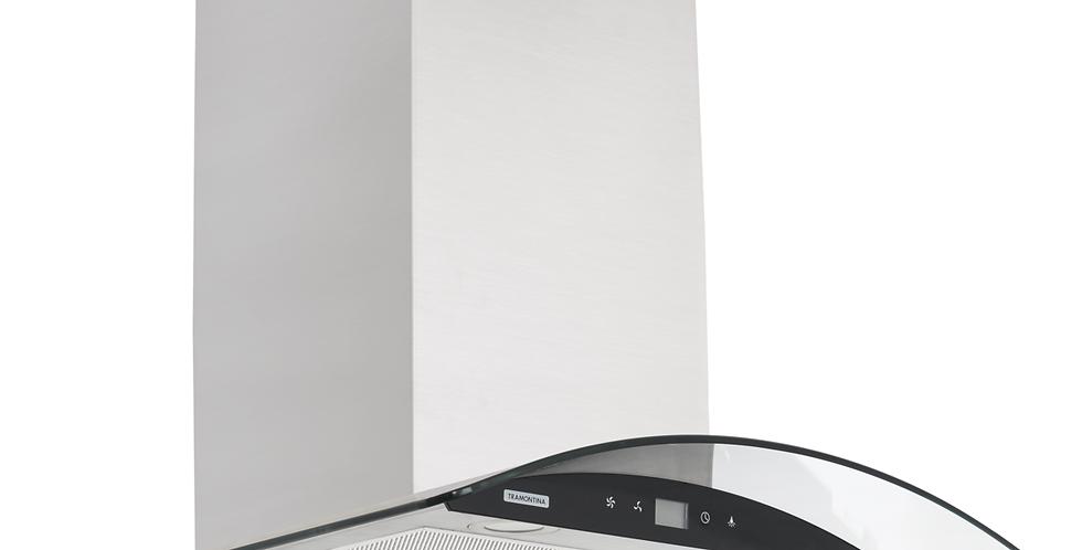 Coifa Tramontina de parede New Vetro Black Touch 60