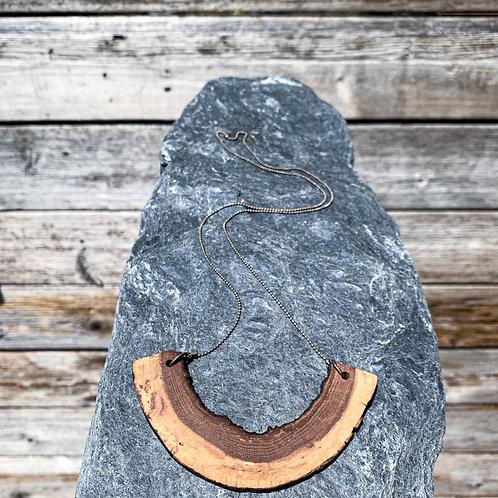 Half Moon Maple Necklace