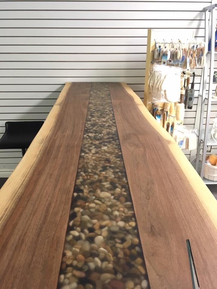 Soapstones countertop