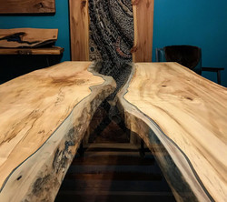 Live Edge Forest River Table Grow & Bloo