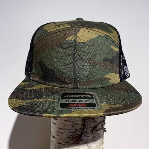 LEF 7-Panel Camo Hat