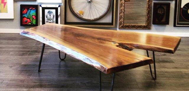 Live Edge Forest Walnut Coffee Table