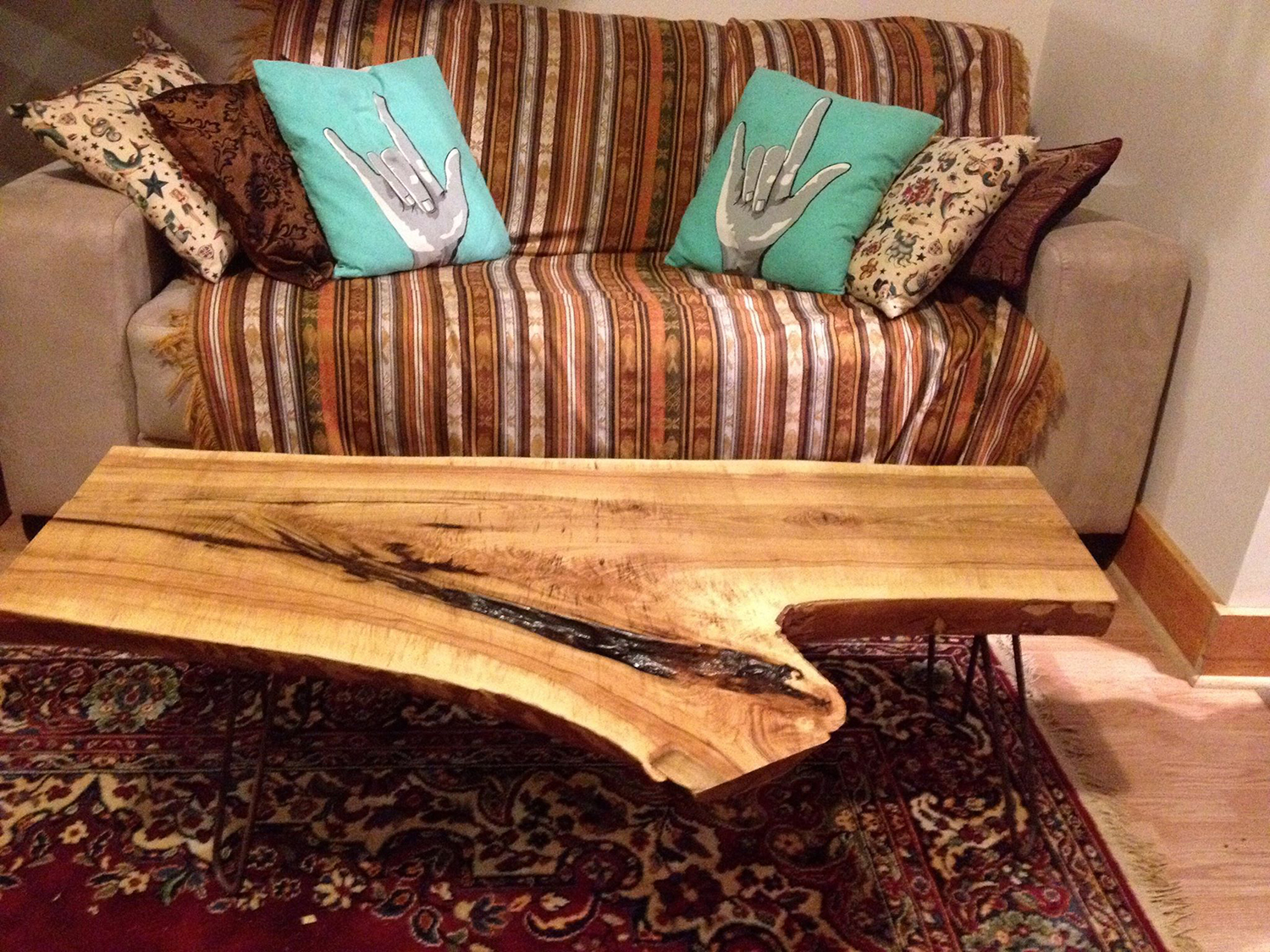 Live Edge Forest Coffee Table