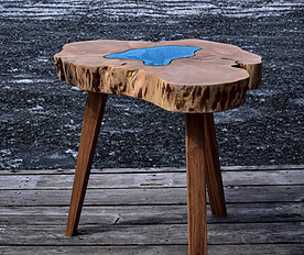 Big Leaf Maple Lake Table