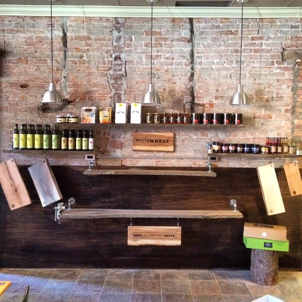 The Pasta Shoppe shelving display