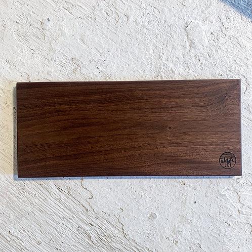 Walnut charcuterie board