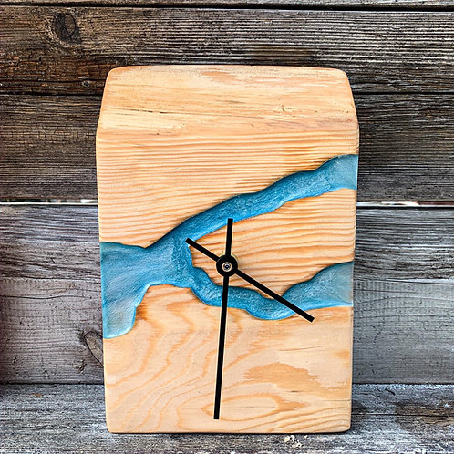 Desktop River Clock