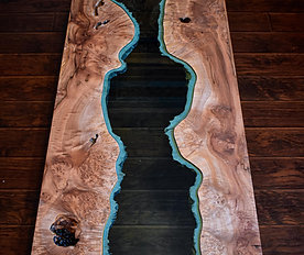 Big Leaf Maple River Table