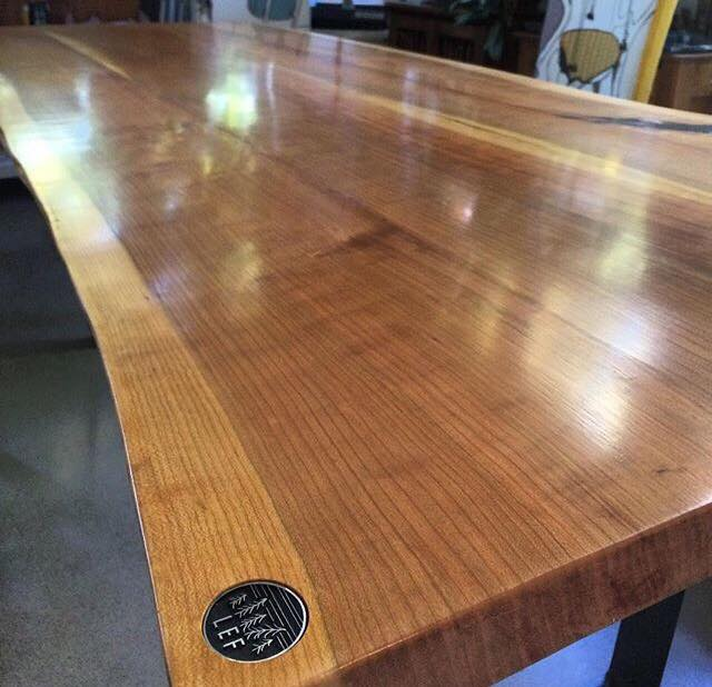 Live Edge Forest dining table