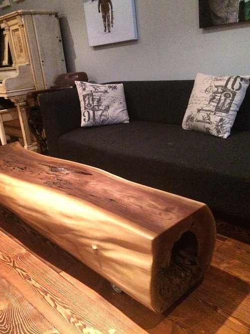 Walnut Log CoffeeTable