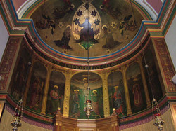 Holy Trinity Apse Painting