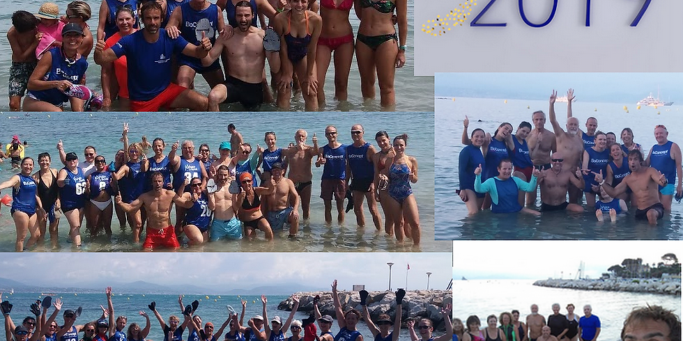 Longe Côte & AquaFitness Nouvel An 2019