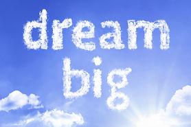 Dream Big cloud word with a blue sky.jpg