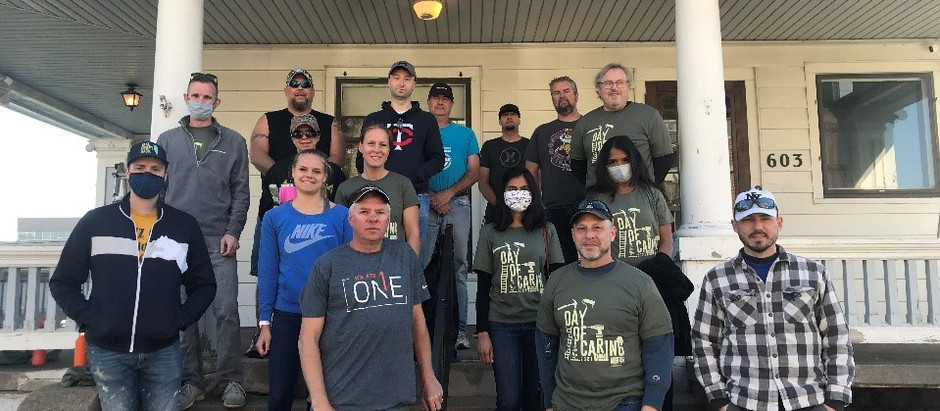 Day of Caring 2021 at Cedar House