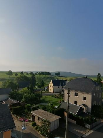 Blick aus dem Fenster der Ferienwohnung