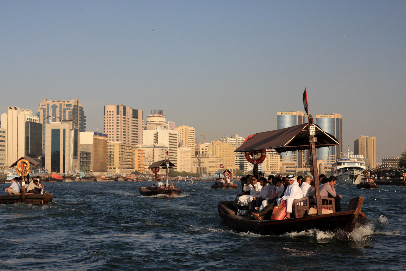 DUBAI CREEK Estuary, golf, marina and river