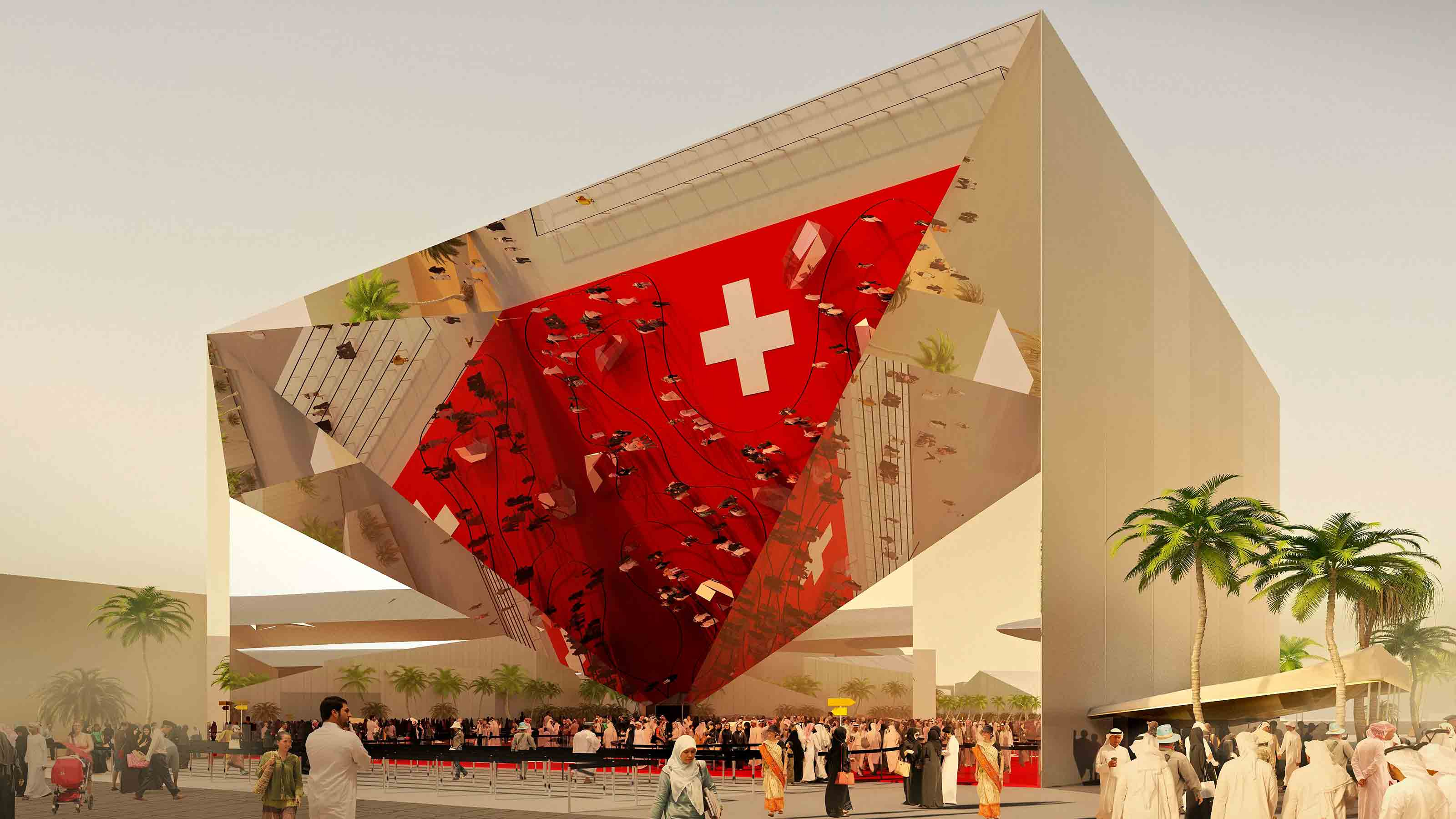 EXPO2020 Pavilion Switzerland