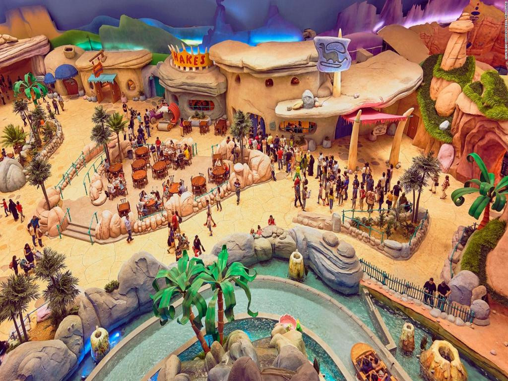 WARNER BROS WORLD ABU DHABI Character-themed amusement park