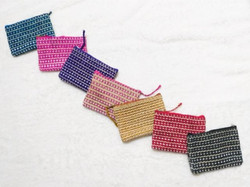 Abaca Coin Purse (Various Colors)