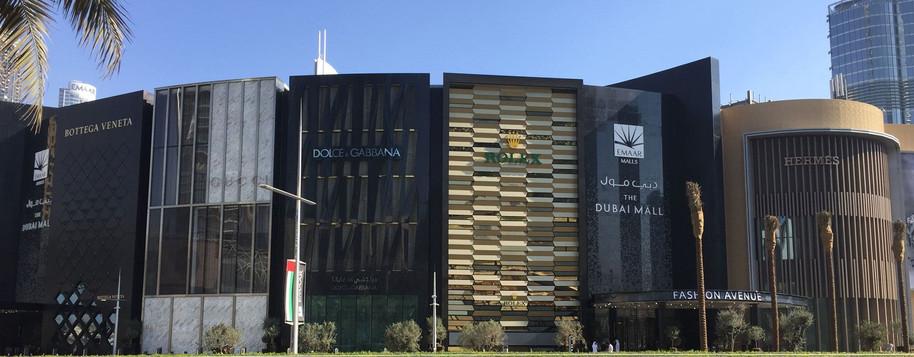 THE DUBAI MALL Expansive shopping & leisure complex