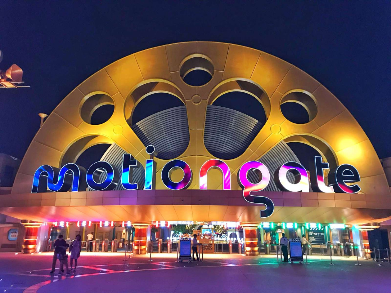 MOTIONGATE DUBAI Hollywood-themed park with rides & shows