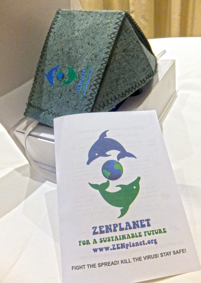 ZENplanet 2-PLY Abaca Face Masks ©