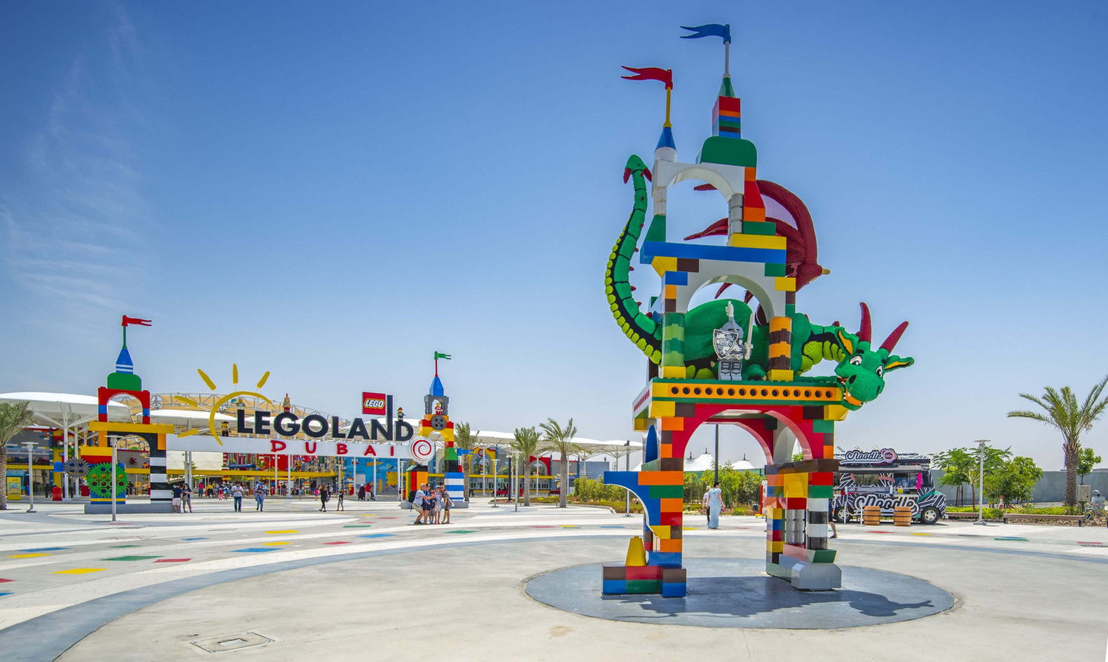 LEGOLAND DUBAI Water park, bollywood, amusement park, park and garden and roller coaster