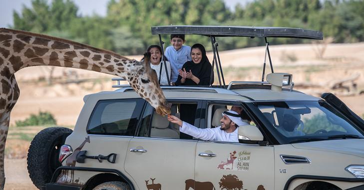 AL AIN ZOO White lions, crocodiles, apes & penguins
